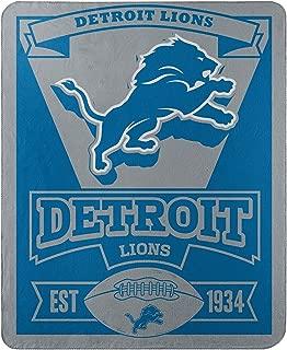 detroit lions throw blanket