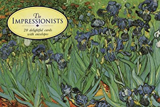 20 Notecards and Envelopes: The Impressionists: A delightful pack of high-quality fine art gift cards with decorative envelopes