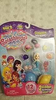 Splashlings Wave 3 Toy Figures (12 Pack) Styles Vary