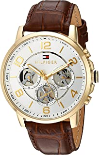 Tommy Hilfiger Casual Watch For Men Analog Leather - 1791291