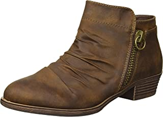 Women's Trust Casual Ruched Scrunch Ankle Bootie Boot