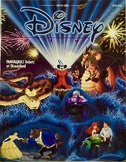 1992 - Spring - Disney News - Fantasmic! - Epcot Center: New Disney Era - 9 New Legends - OOP - Mint - Rare - Collectible