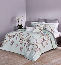 Ted Baker Flight of The Orient Cotton 3 Piece Comforter Set with Shams, King, Mint Green