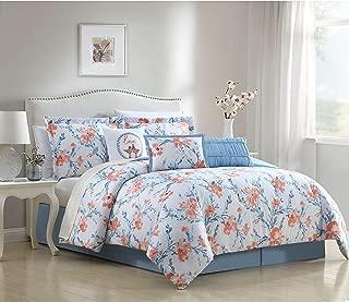 Ellison First Asia Carmela 6 & 7 Piece Comforter Set 7 Piece Full