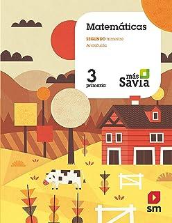 Matemáticas. 3 Primaria. Más Savia. Andalucía