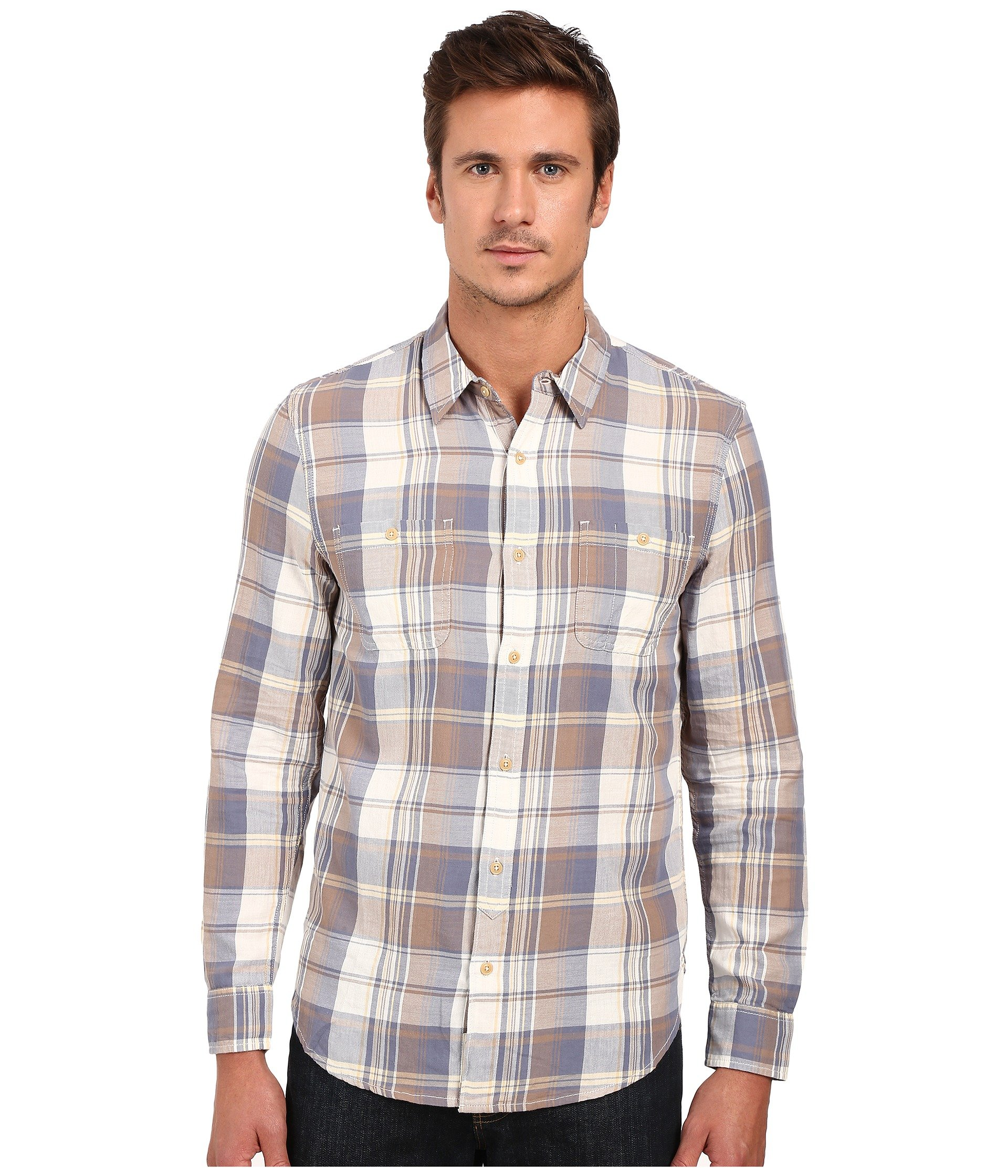 Lucky Brand Twill Mason Workwear Shirt At 6pm