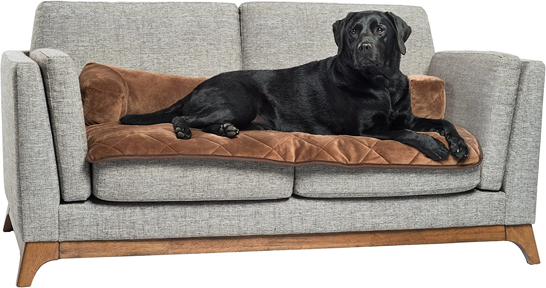 Pet Therapeutics TheraWarm Self Warming Sofa Bolster and Furniture Predector