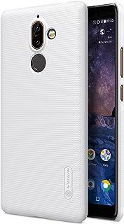 Funda® firmness smartphone-fodral + 1 skärmskydd för NOKIA 7 Plus (vit)