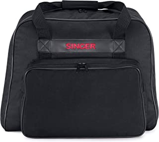 SINGER | Black Universal Canvas Machine Tote, Easy to Store, Fits SINGER Sewing Machines and Sergers - Sewing Made Easy