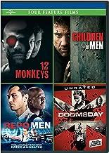 12 Monkeys / Children of Men / Repo Men / Doomsday Four Feature Films