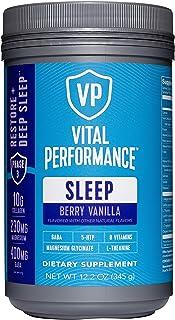 Vital Performance Sleep Berry Vanilla - Natural Sleep Aid with GABA and L-Theanine