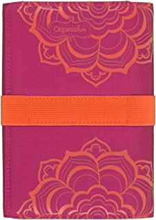 Mead Organizer Coupon Organizer, 7-1/4in x 5in, Coral Floral Design (57125FLRL)