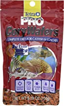 TetraPro CoryWafers Complete Diet For Catfish And Loaches, Enriched With Shrimp, 5.29 Ounce