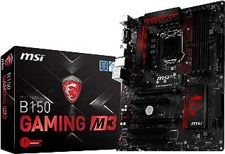 MSI Gaming Intel Skylake B150 LGA 1151 DDR4 USB 3.1 ATX Motherboard (B150 Gaming M3)