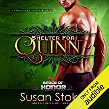 Shelter for Quinn: Badge of Honor - Texas Heroes, Book 13