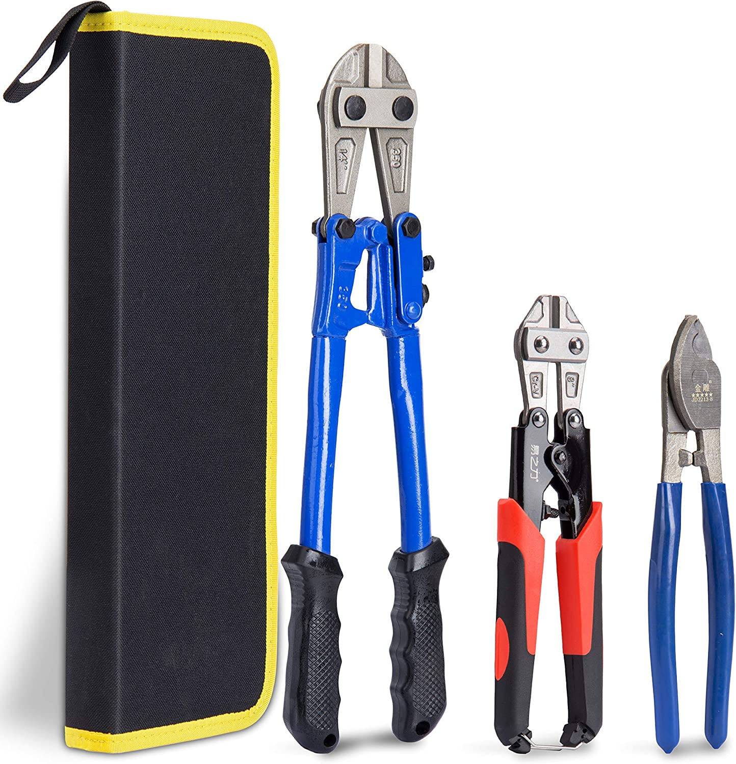 trend rank Easy-to-use KOTTO Bolt Cutter Pliers Set Industrial Duty 1 Soft Heavy Rubber