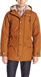 Ben Sherman Men's Parka Jacket with Sherpa Hood Lining