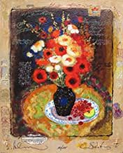 Alexander Wissotzky COLORFUL BOUQUET Hand Signed Limited Edition Serigraph