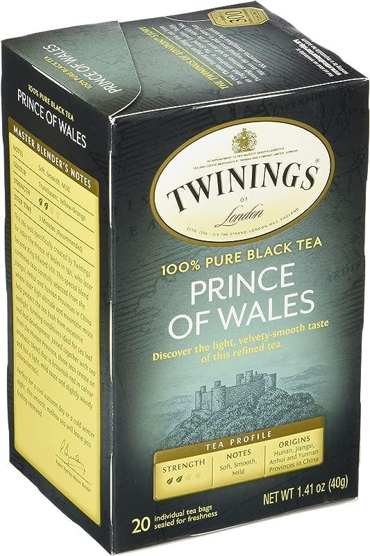 Twinings Prince Of Wales Tea 20 Ct
