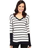 Fate - Long Sleeve Stripe V Knit