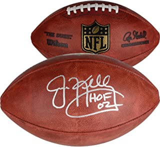 Jim Kelly Buffalo Bills Autographed Pro Football with