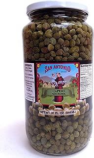 32 Oz Imported Non Pareil Capers in Vinegar and Salt Brine