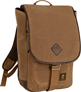 Timberland Luggage Mt. Madison 17 Inch Backpack Messenger, Tan/Brown, One Size