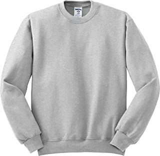 Men's Pill Resistant Long Sleeve Crewneck Sweatshirt