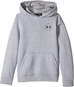 Under Armour Kids - Freedom Flag Rival Hoodie (Big Kids)