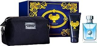 Versace Pour Homme Eau De Toilette Giftset, 100ml + Shower Gel 100ml + Pouch
