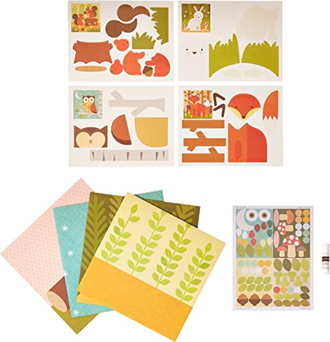 venderse como panqueques Petit Collage Forest Animals Animals Animals My Petit Collage Kit  precios mas baratos