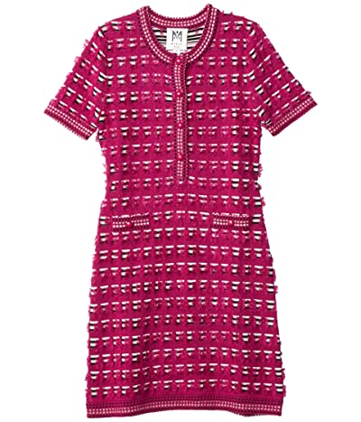 Milly Minis Tweed Fitted Dress (Big Kids) Girl