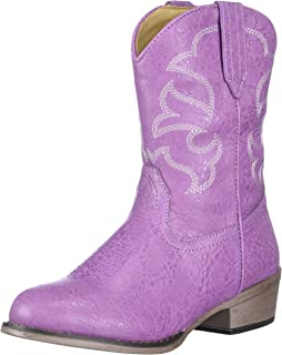 Children Western Cowboy Cowgirl Boot, Monterey by Silver Canyon for Boys, Girls and Toddlers