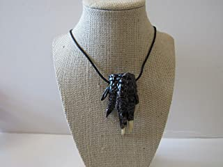 Alligator Foot Necklace Gator Foot Jewelry Animal Bone Jewelry VooDoo Necklace N756