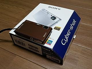 索尼 Sony 数码相机 Cybershot T77( 1200万像素 / 光学 x4/ 3.0英寸触摸显示器液晶 ) 褐色 DSC-T77/ T