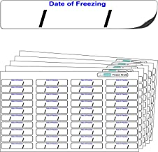 "640x ""Date of freezing"" FREEZER GRADE Self Adhesive"