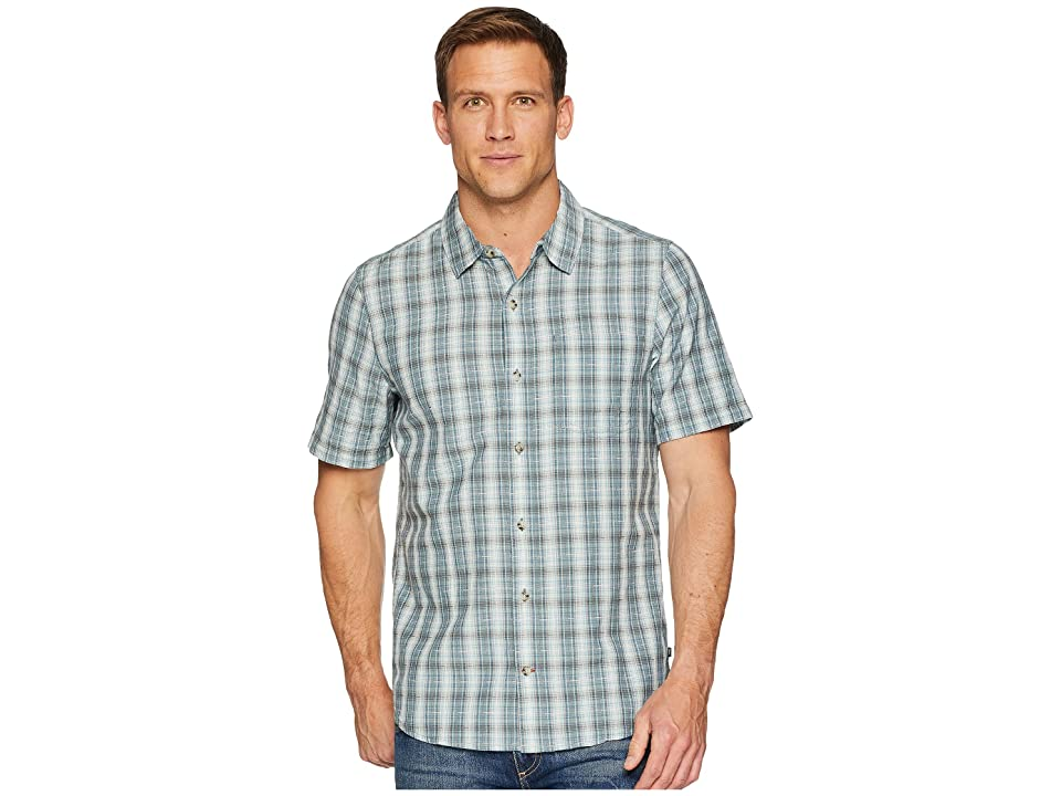 Toad&Co Airscape Short Sleeve Shirt (Smoke) Men