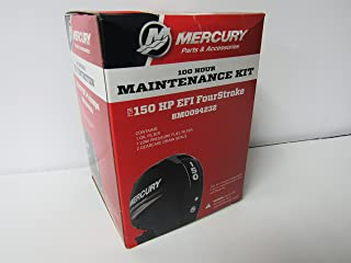 OEM Mercury 100 Hour Maintenance Kit for 150HP EFI FourStroke Outboard 8M0094232