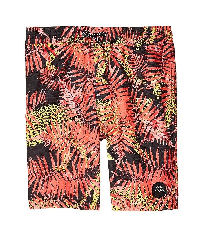 Quiksilver Kids  No Destination Volley (Big Kids) (Fiery Coral) Boys Swimwear
