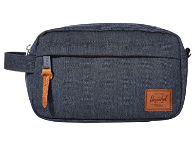Herschel Supply Co. Chapter Carry On (Indigo Denim Crosshatch/Saddle Brown) Bags