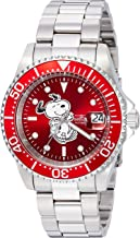 Invicta Men's Automatic-self-Wind Watch with Stainless-Steel Strap, Silver, 14 (Model: 24784)