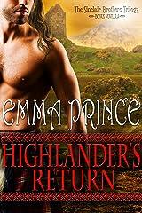 Highlander's Return (The Sinclair Brothers Trilogy, Book 2.5 Novella) Kindle Edition