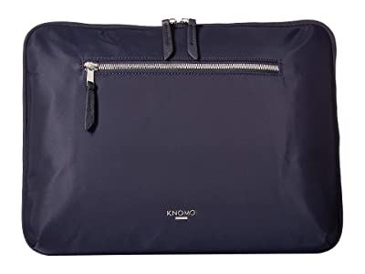 KNOMO London Mayfair Knomad 13 Tech Organiser (Dark Navy) Travel Pouch