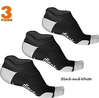 Athletic Running Socks - No Show Wicking Blister Resistant Long Distance Sport Socks for Men and Women