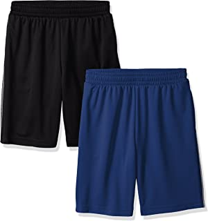 Amazon Essentials Boy's 2-Pack Basketball Mesh Shorts