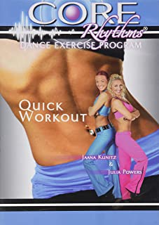 Quick Workout - Core Rhythms Dance Exercise Program (with Jaana Kunitz and Julia Powers)
