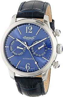 Ingersoll - IN8009BL - Reloj analógico de Caballero automático con Correa de Piel