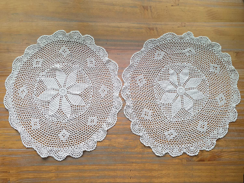 Vintage Crochet Doily Table Runner Table decoration