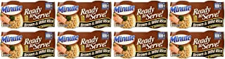 Minute Ready to Serve Brown & Wild Rice 2 - 4.4 oz cups (Pack of 8)