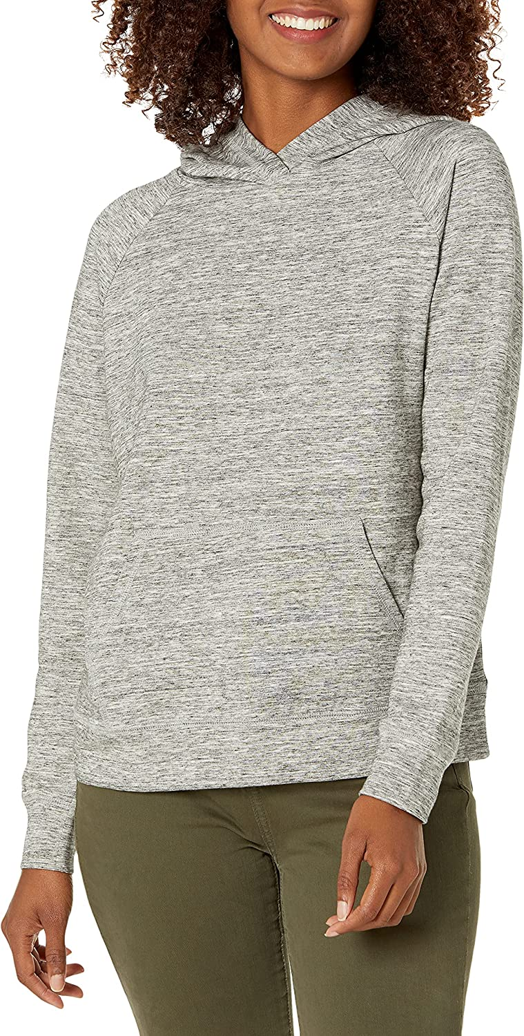 Daily Ritual Women's Terry Cotton and Modal Popover Sweatshirt